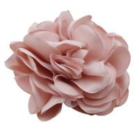 Hair Band Rope Camellia Flower Ponytail Holder Scrunchie Hairband Accessory W