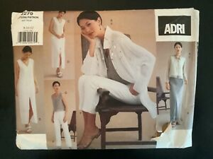 Vogue Pattern 2279 Adri Wardrobe size 8-12