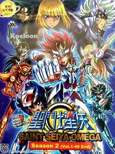 DVD Japan Anime SAINT SEIYA OMEGA Complete SEASON II (2) (1-46) English Subtitle
