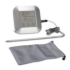 Kwmobile Thermomètre Sonde de Cuisine - Numérique cuisson avec Écran LCD Et...