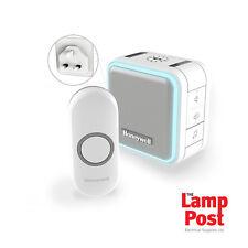 HONEYWELL DC515NBS Wireless Plug In Campanello con modalità Sleep & Nightlight Bianco