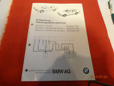 BMW Prüfanleitung Fahrzeugelektrik/- elektronik!!!