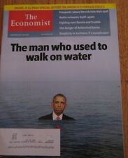 BRAND NEW The Economist November 23-29 2013 The Man Who Used To Walk On Water