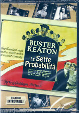 Le sette probabilità (1925) DVD NUOVO Buster Keaton, Snitz Edwards, Ray Barnes