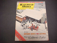 Railroad Model Craftsman Magazine,December 1972,California Zephyer,Caboose Plans