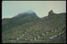142047 Terraces And Watchtower Machu Picchu A4 Photo Print