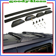 For 06-10 Hummer H3 Black OE Style Roof Rack Cross Bars W/ Lock H3T Luggage Key