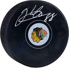 Patrick Kane Chicago Blackhawks Signed Logo Hockey Puck - Frameworth - Fanatics