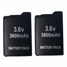 2 Battery for Sony PSP-1000G1W PSP-1000 PSP-1000KCW PSP-1000K PSP-1000G PSP-110
