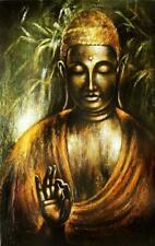 Buddha Ölbilder Gemälde Leinwand Keilrahmen Ölbild Bild Bilder G02604