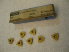 Ingersoll Wogx 050304 360 Carbide Insert 7pc Lot