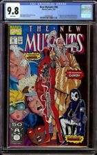 New Mutants # 98 CGC 9.8 White (Marvel 1991) 1st appearance Wade Wilson Deadpool