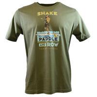 Tommy Bahama Men's T-Shirt - Shake Paddle and Row - Paddling Kayaking Hawaiian