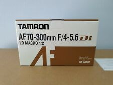 Tamron AF 70-300mm DSLR F4-5.6 Lens for Canon