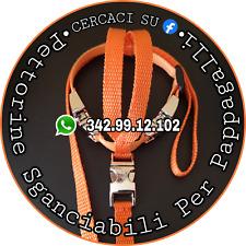 Pettorina SGANCIABILE x Pappagalli 200-299gr - Filo staccabile