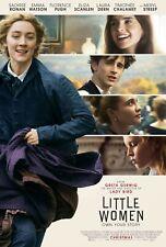 LITTLE WOMEN MOVIE POSTER FILM A4 A3 A2 A1 PRINT CINEMA