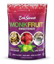 Zen Sweet Monk Fruit Sweetener 454 g, Sugar Free, Low Carb, Zero Calories