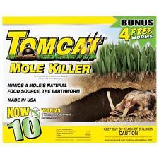Tomcat Mole Killer, 10Pack, New, Free Shipping