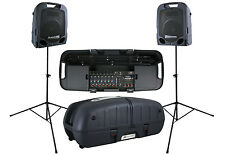 "Peavey Escort 5000 Two-way DJ Audio PA Portable Speaker System 10"" Woofer"