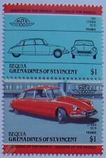 1955 Citroen ds-19 coche Sellos (líderes del mundo / Auto 100)