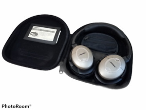 Bose QC-2 Noise Cancelling Headphones w/ Case Needs Earpads Replaced