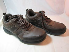 """Mens Sonoma Life Style Watson Lace Up Brown Oxfords Shoes Sz 9M 1"""" Heels"""
