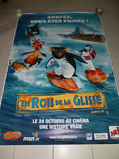 AFFICHE SURF'S UP Sony Pictures 4x6 ft Bus Shelter Original Movie Poster 2007
