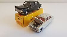 Dinky Toys (510 Made in France) & Metosul (24) - Peugeot 204
