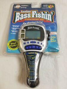 RADICA 9735 Lunker BASS FISHIN Electronic Fishing Game
