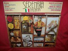SERENATA ITALIANA Di Stefano Domingo Del Monaco Tagliavini  LP 1984 ITALY MINT-