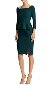 chiara boni la petite robe 10 Forest Green
