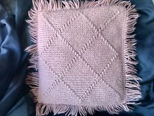 HandMade Vintage Crocheted Throw Pillow
