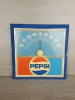 Vintage 1960s Pepsi Cola Thermometer