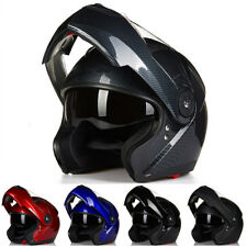 ILM Motorcycle Helmet Full Face Modular Flip Up Helmet Mountain Bike Helmets DOT