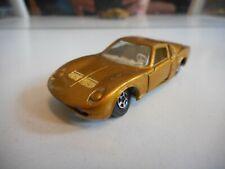 Matchbox Superfast Lamborghini Miura in Gold