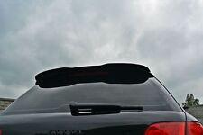Dachspoiler schwarz Ansatz Heckspoiler für Audi A4 8e Spoiler Dachkantenspoiler
