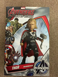 "AVENGERS The Age of Ultron - Thor 7.5"" Head Knocker / Bobble (NECA)"