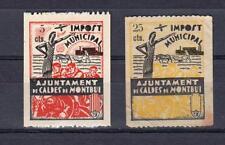 CALDES DE MONTBUI (BARCELONA).   LOTE DE CONJUNTO