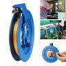 Kite Line Winder ABS Winding Reel Grip Wheel with 100M String Flying Tool &Lock