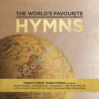 CD-Box: THE WORLD'S FAVOURITE - HYMNS - 50 Songs on 3 CDs - 50 Lieder °CM°