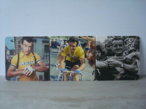 Tour de France 'Heroes Of Britanny' Beer Mats / Coasters x 3 - Free P&P - NEW