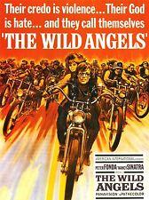 FILM MOVIE WILD ANGELS MOTORCYCLE GANG FONDA SINATRA ART POSTER PRINT LV1639