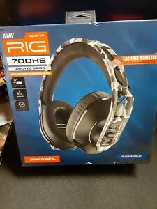 SEALED PS4 Plantronics Rig 700HS Arctic Camo Lag-Free Wireless Gaming Headset