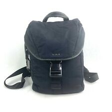 TUMI VERONA 79010NVY Dark Navy Black Nylon & Leather Backpack