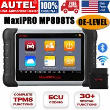 Autel Mp808ts Maxisys Pro Car Bidirectional Diagnostic Scan Tool Key Coding Tpms