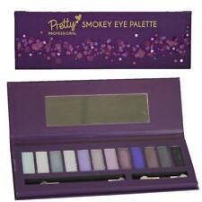 Pretty Professional Make Up Gifts - 14 Piece Eye Palette - Smokey
