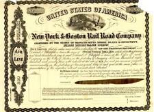 1862    $200      New York & Boston Railroad  Company Bond.