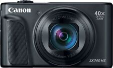 Canon - PowerShot SX740 HS 20.3-Megapixel Digital Camera - Black