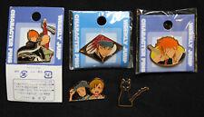 Bleach Pins/Brooch/Spilla Ichigo Kurosaki,Karin/Yuzu,Renji Abarai,Yoruichi cat