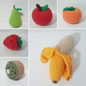 Fruits Handmade Crochet by 6 units